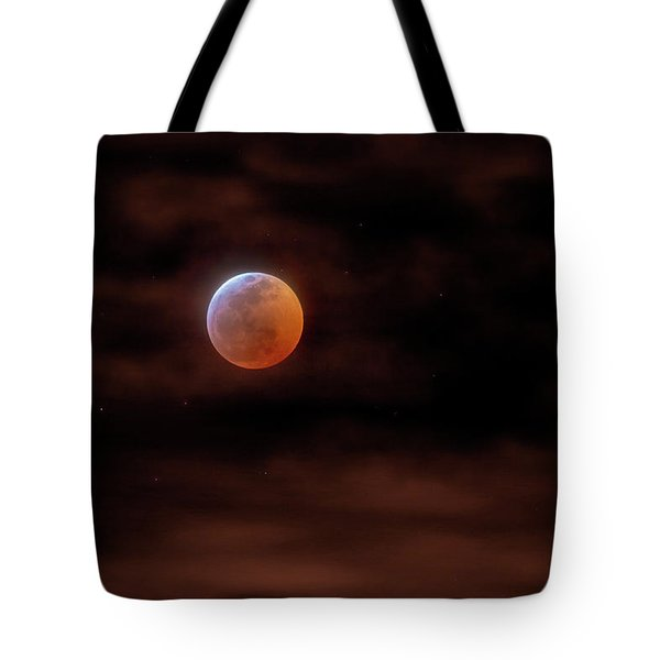 Spectacular Midnight Sphere  Tote Bag