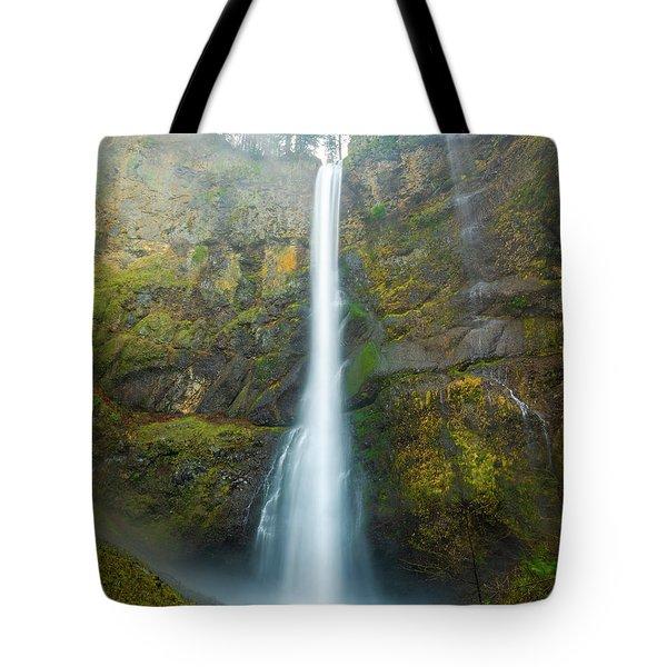 Spectacular Multnomah Falls Tote Bag