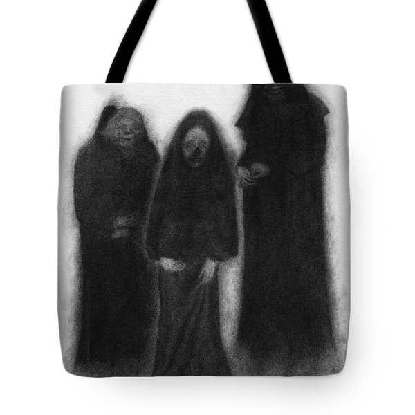 Specters Of The Darkness Beneath - Artwork Tote Bag