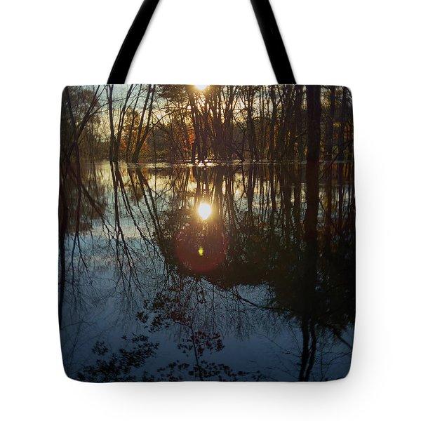 Spectral Morning Tote Bag
