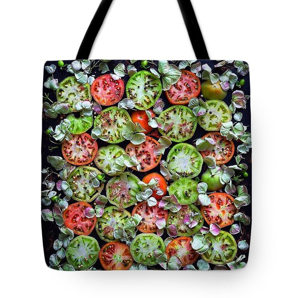 Spiced Tomatoes Tote Bag