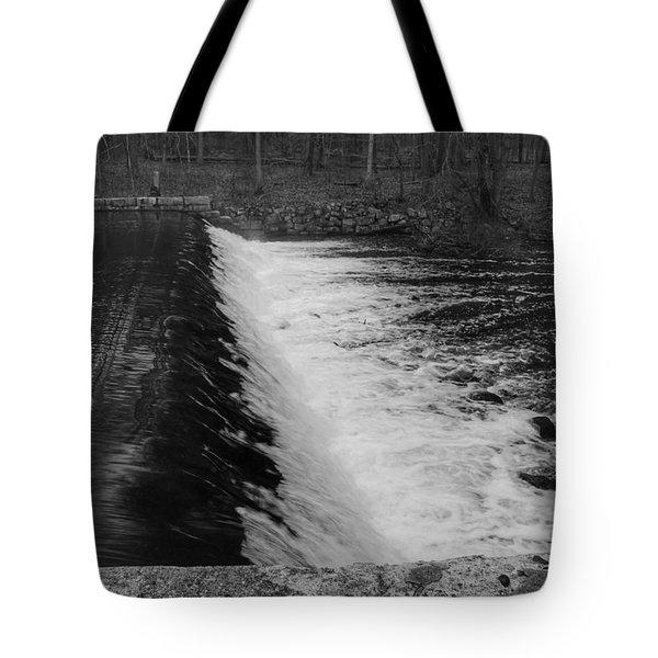 Spillway In Detail - Waterloo Village Tote Bag