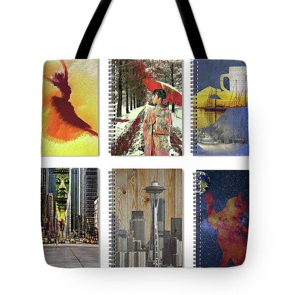 Spiral Notebooks Samples Tote Bag