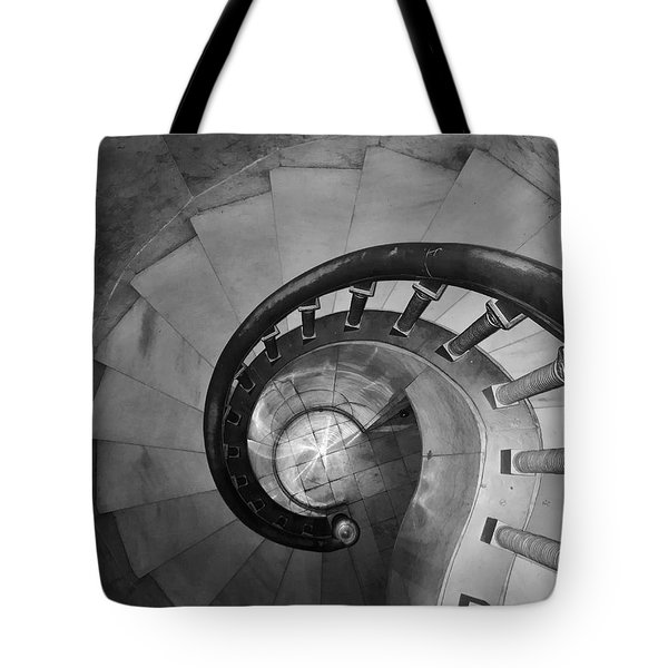 Spiral Staircase, Lakewood  Cemetary Chapel Tote Bag