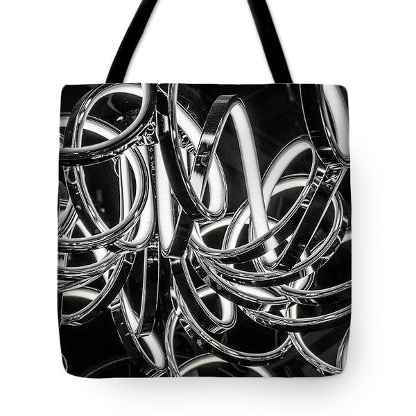 Spirals Of Light Tote Bag