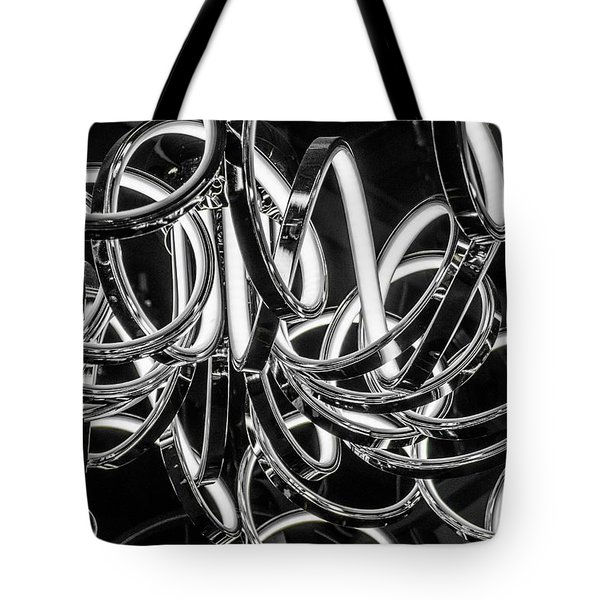Spirals Of Light Tote Bag