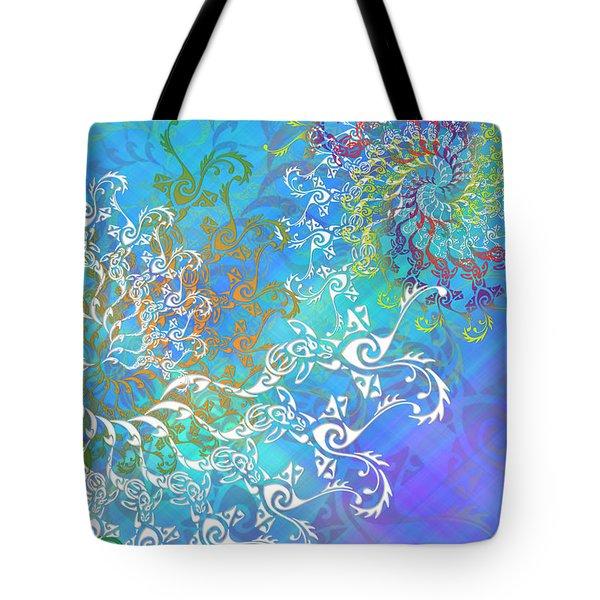 Spirals Tote Bag