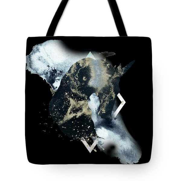 Tote Bag featuring the digital art Spirit Animal by Bee-Bee Deigner