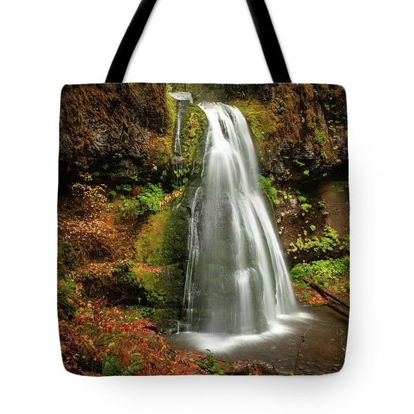 Spirit Falls Horizontal Tote Bag