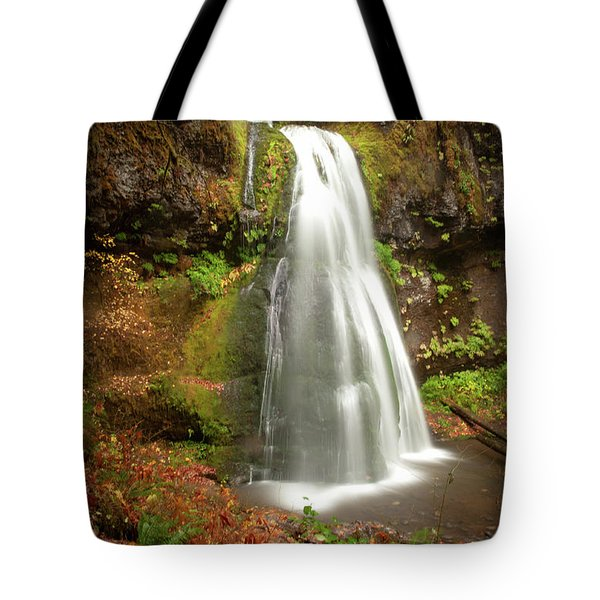 Spirit Falls Vertical Version Tote Bag