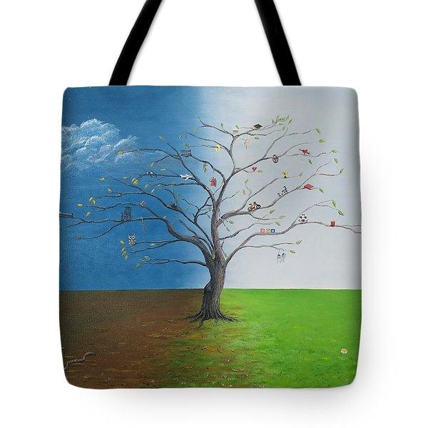 Spirit Of Eden Tote Bag