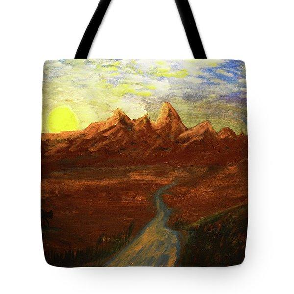 Spirit Of Wyoming Tote Bag