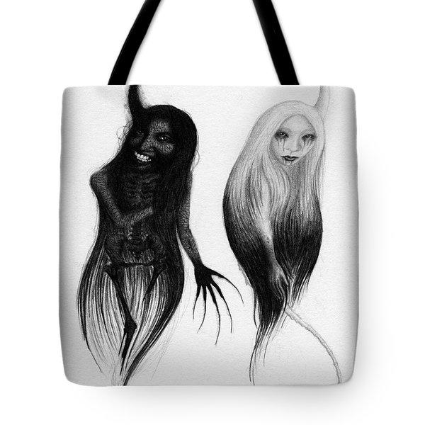 Spirits Of The Twin Sisters - Artwork Tote Bag