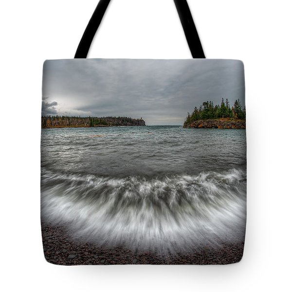 Split Rock Lighthouse State Park Tote Bag