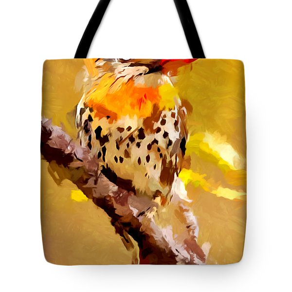 Spot-backed Puffbird Tote Bag