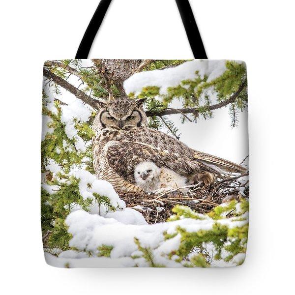Spring Caregiver Tote Bag