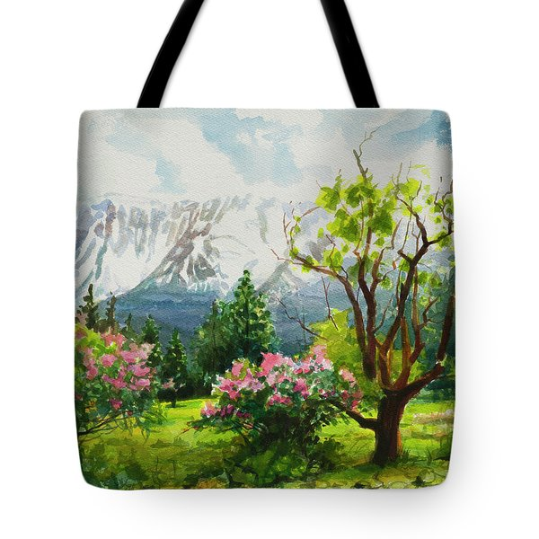 Spring In The Wallowas Tote Bag