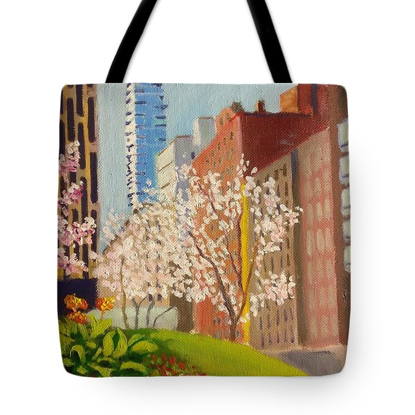 Spring In Worth St Tote Bag