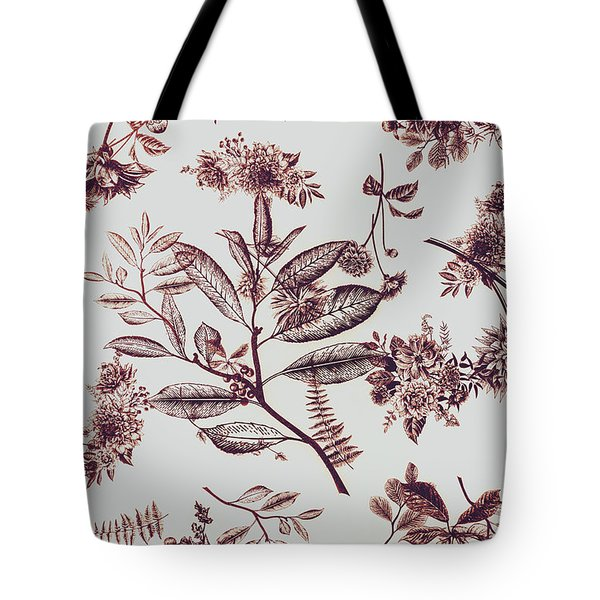 Spring Ink Tote Bag