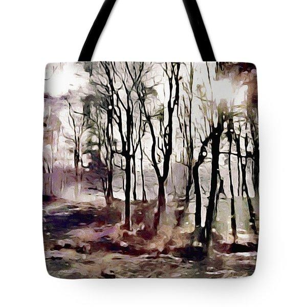 Spring Morning Mist Tote Bag