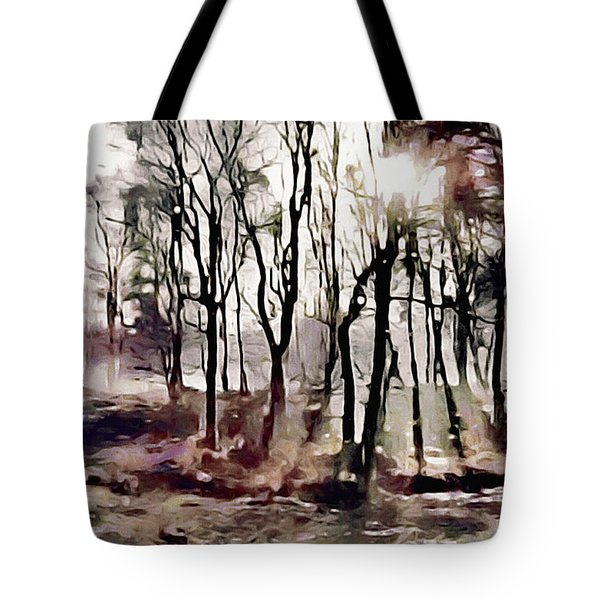 Spring Morning Mist Tote Bag