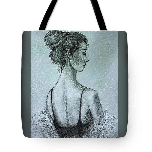 Spring Snow Devotchka Tote Bag