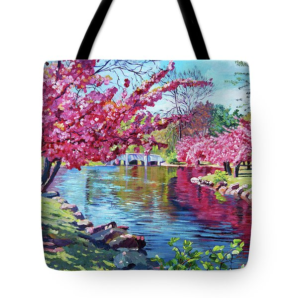 Spring Soliloquy Tote Bag