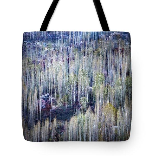 Spring Strokes Tote Bag