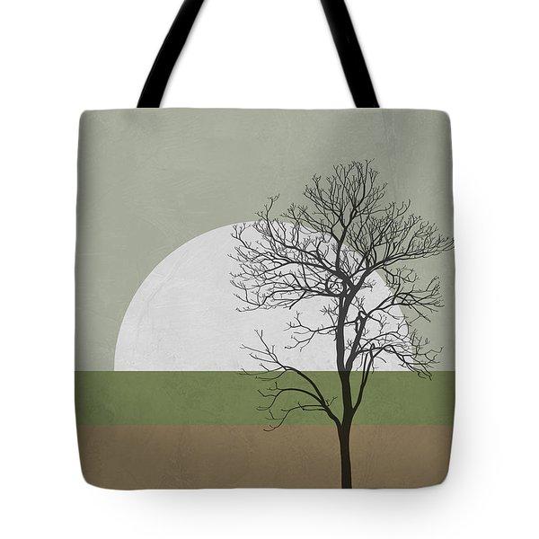 Spring Sunset Tree Tote Bag
