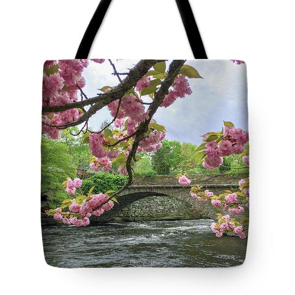 Spring Time In Windham  Tote Bag