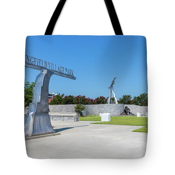 Springfield Village Park - Augusta Ga Tote Bag