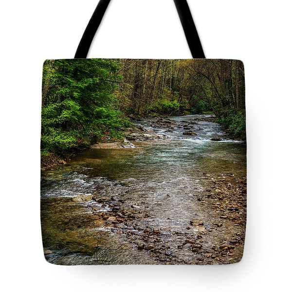 Springtime Gauley River Headwaters Tote Bag