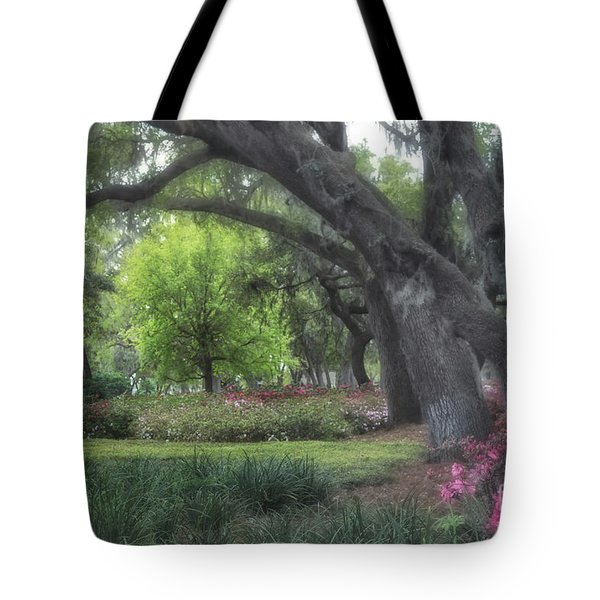 Springtime In The Park Tote Bag