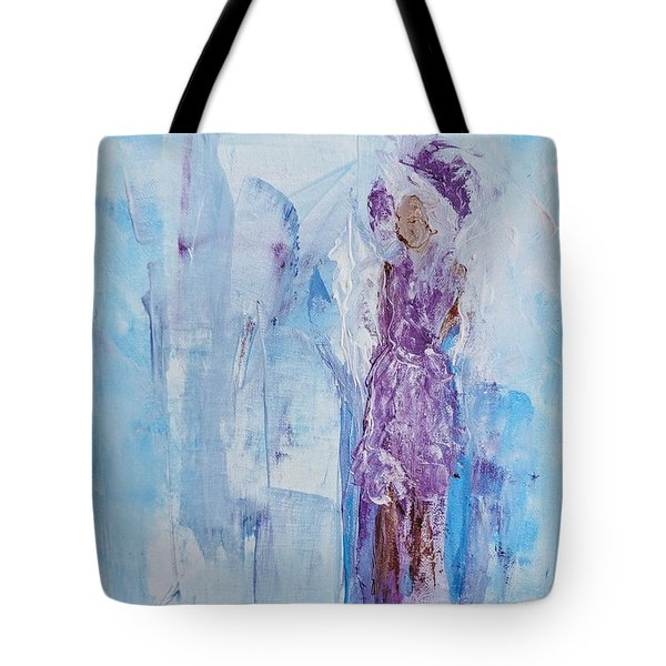 Spunky Angel Tote Bag