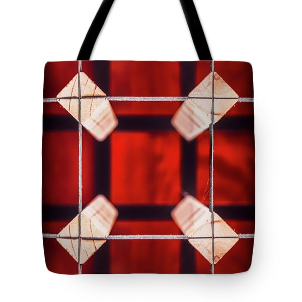 Squared Tote Bag
