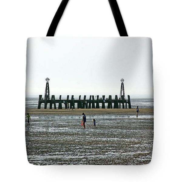 St. Annes. On The Beach. Tote Bag