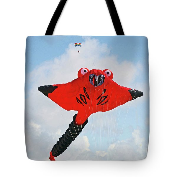 St. Annes. The Kite Festival Tote Bag