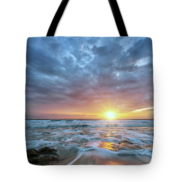 St. Augusting Sunrise  Tote Bag