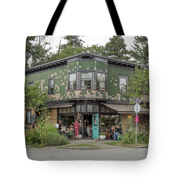 Tote Bag featuring the photograph St George St. And E 28th by Juan Contreras