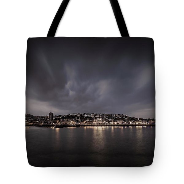 St Ives Cornwall - Dramatic Sky Tote Bag