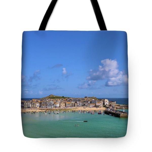 St Ives Cornwall - General View Tote Bag