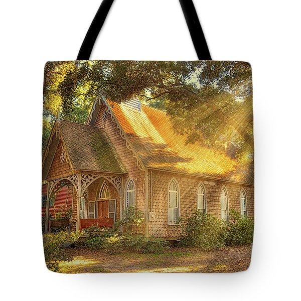 St. James Santee Episcopal Chapel Of Ease Tote Bag