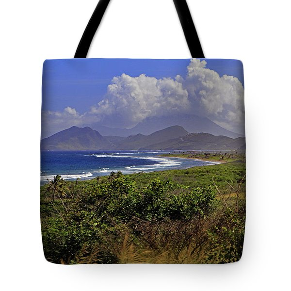 Tote Bag featuring the photograph St Kitts  by Tony Murtagh