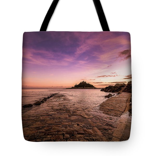 St Michael's Mount - January Tote Bag