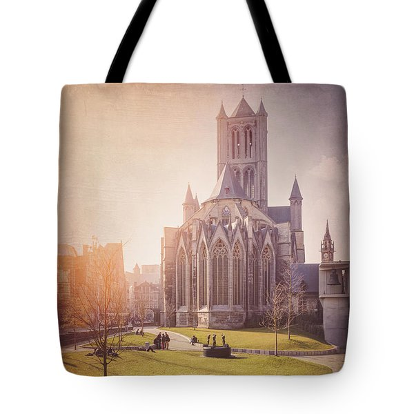 St Nicholas Church Ghent Belgium  Tote Bag