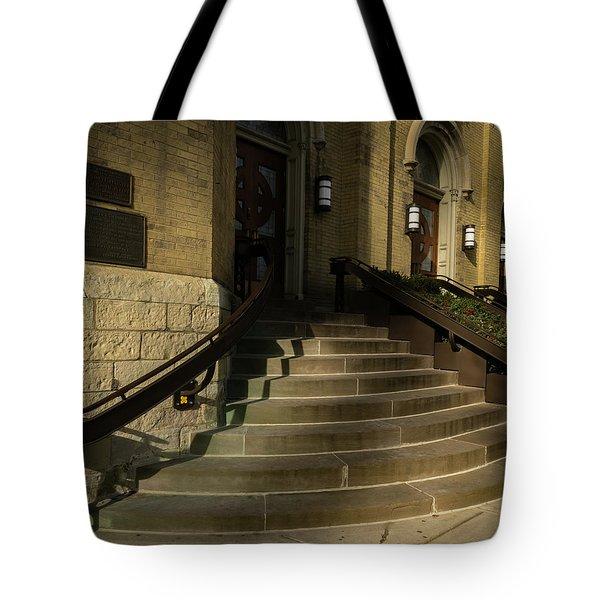 St Pete's Catholic Church Tote Bag