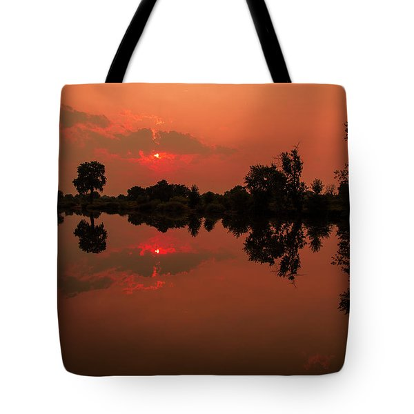 St. Vrain Sunset Tote Bag