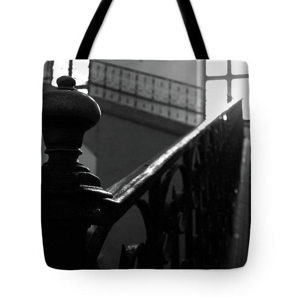 Stairs, Handrail Tote Bag
