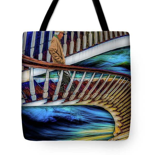 Stairway To Perdition Tote Bag