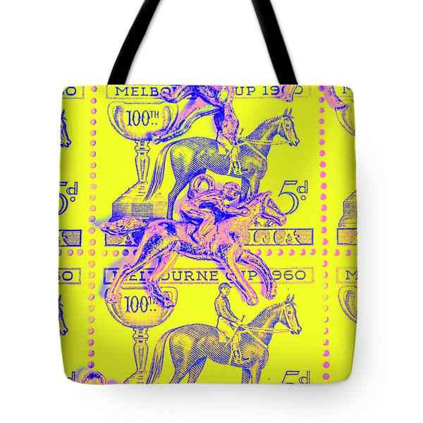 Stamps And Stallions Tote Bag